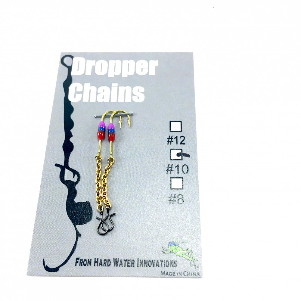 Perch XH Dropper Chain - Red/Blu/Purple