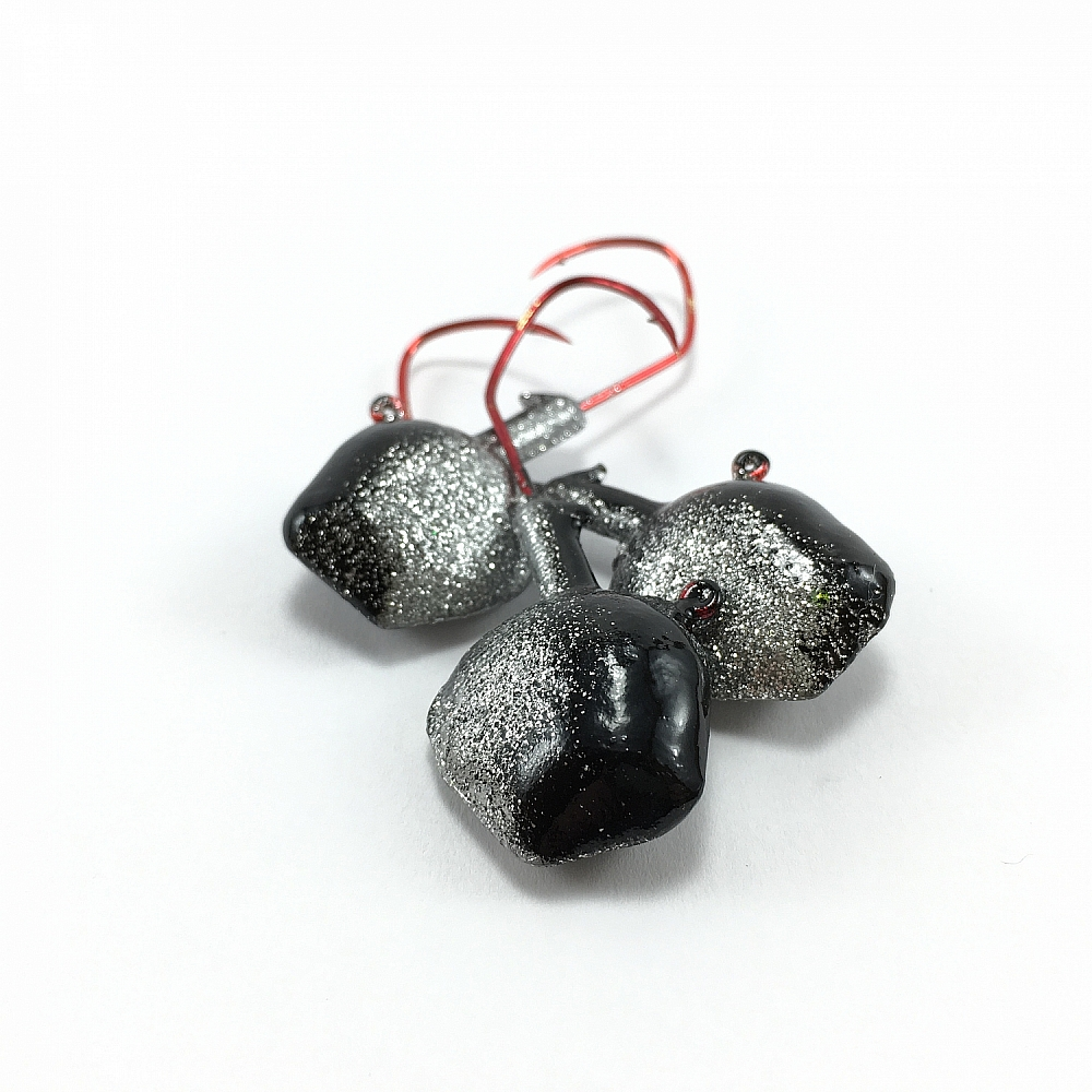 Angler's Quest Gator Jig - Black Ice