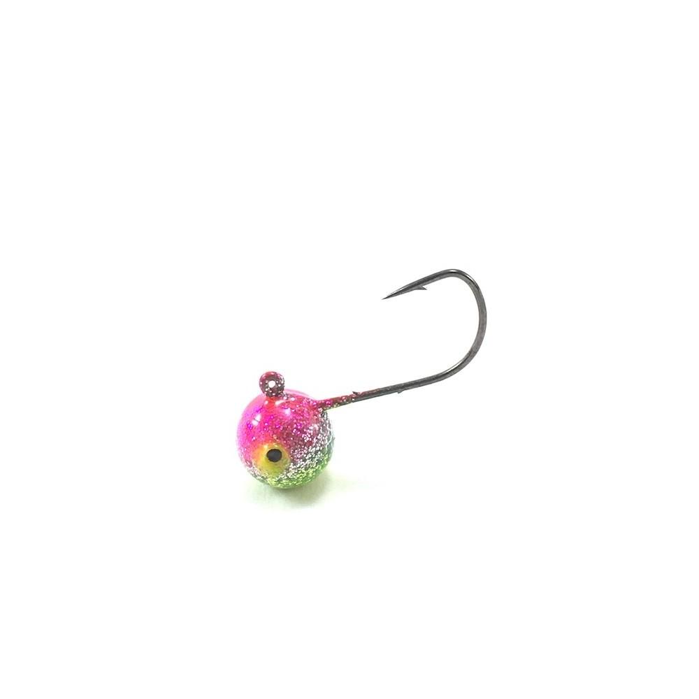 Heavy Metal Tungsten Micro Barb Jig - Glitter Melon