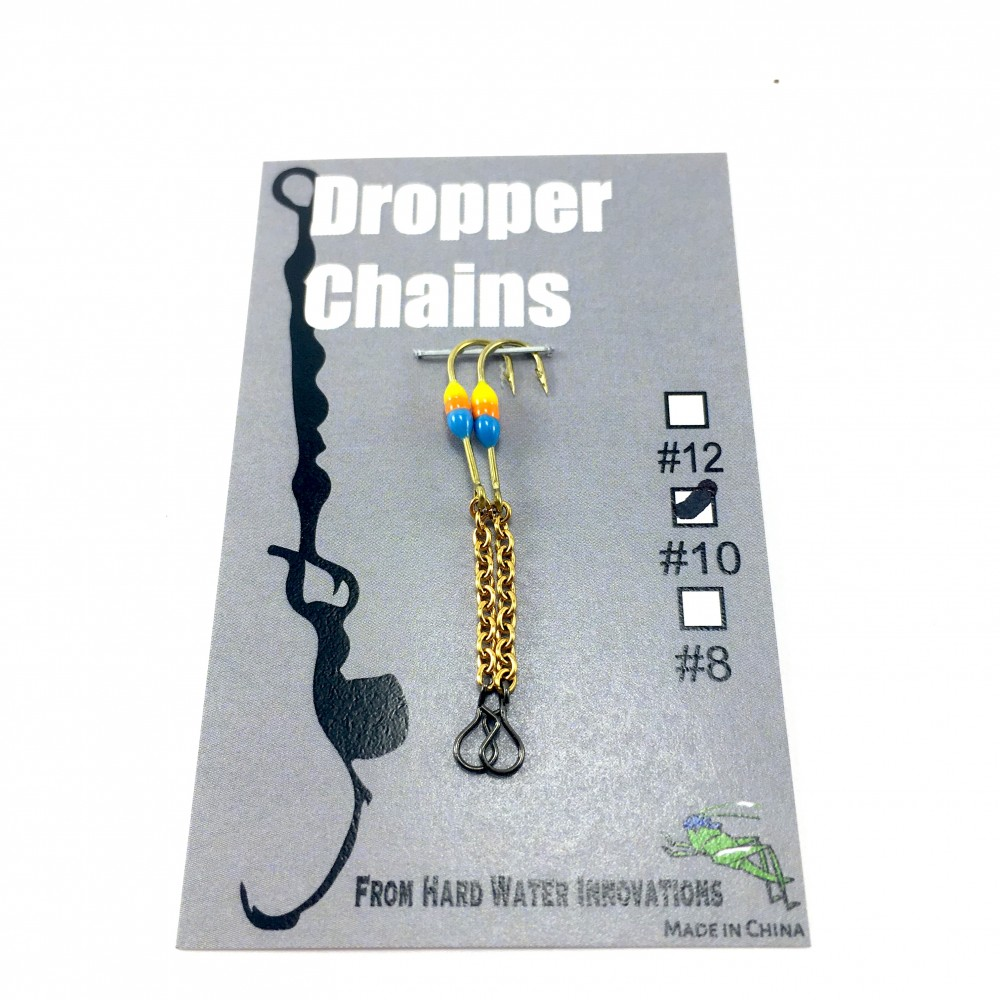 Perch XH Dropper Chain - Blue/Org/Yel