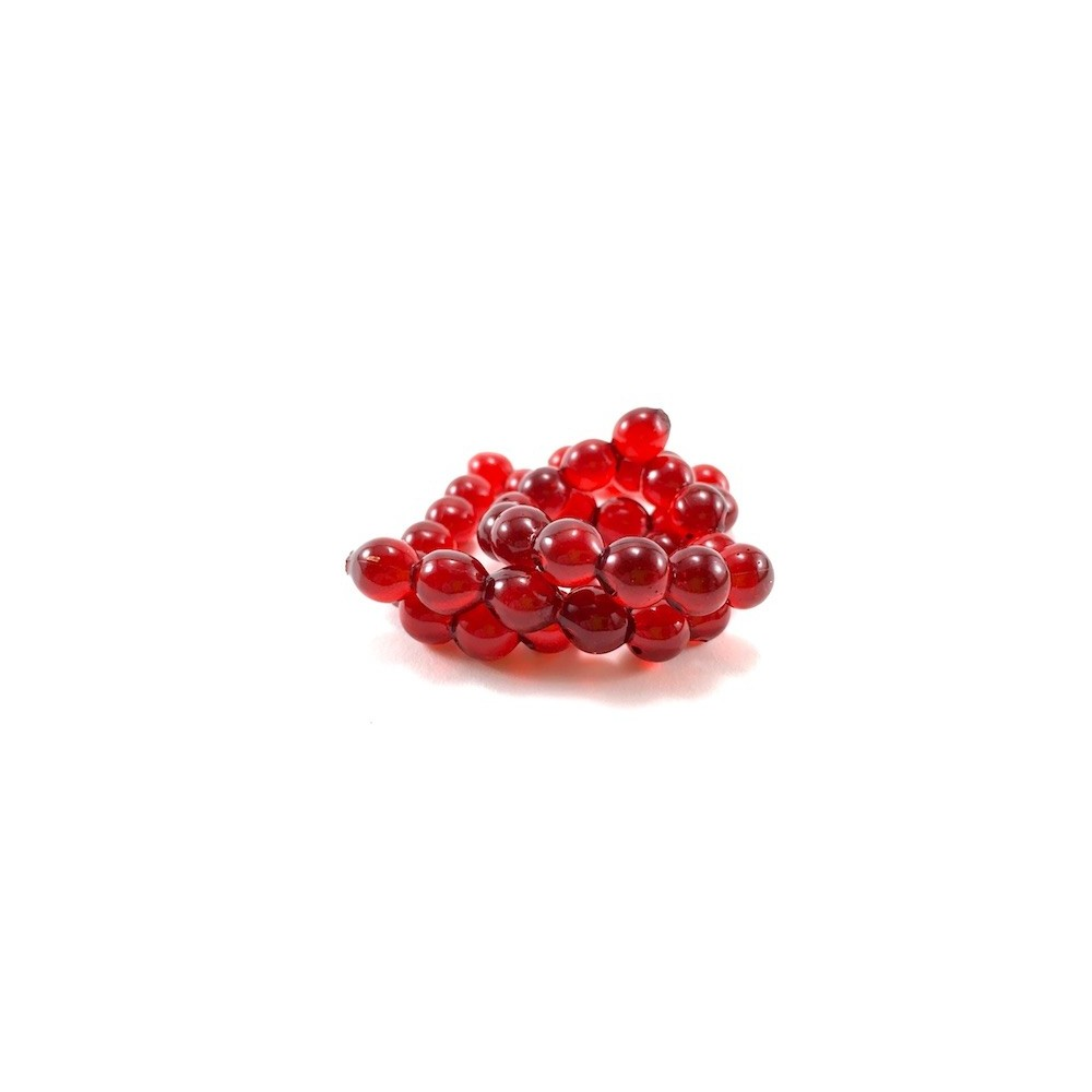 Angler's Choice 8mm Egg - Ruby Red