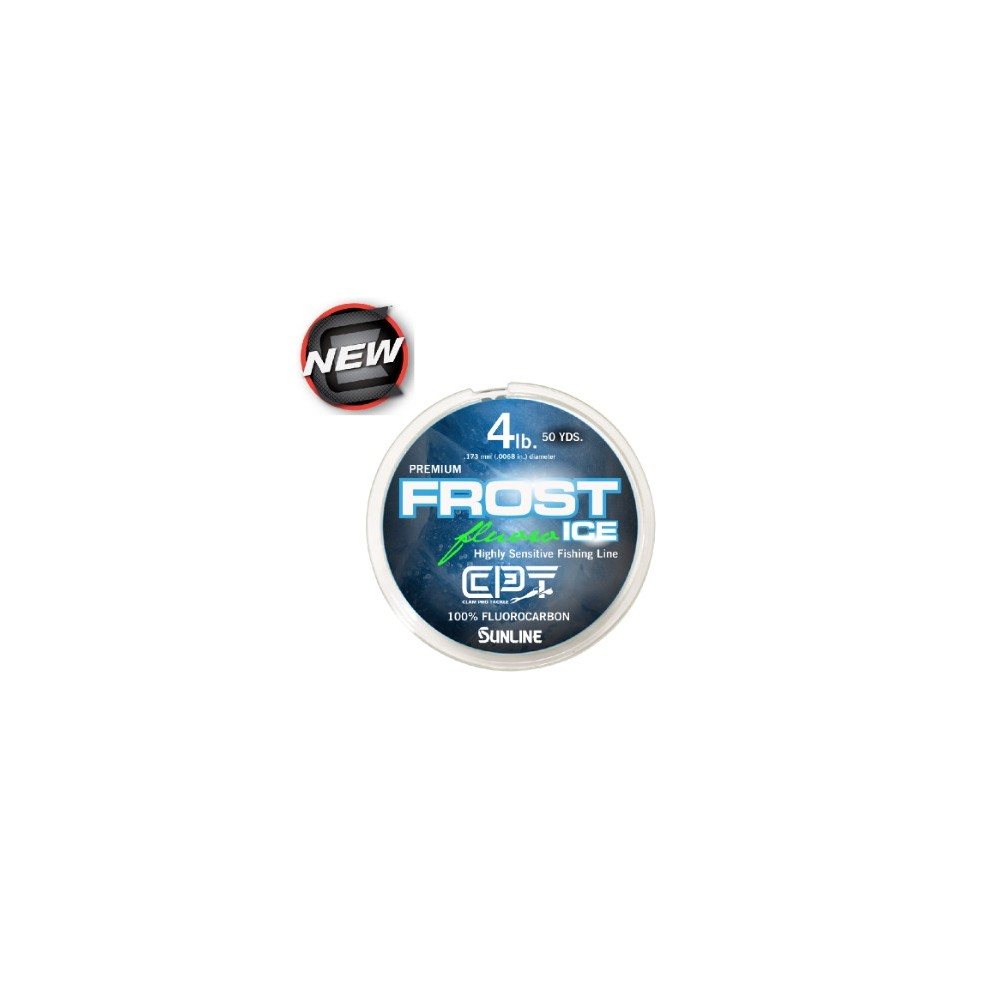 Clam Pro Tackle Frost Ice Flurocarbon Ice Line
