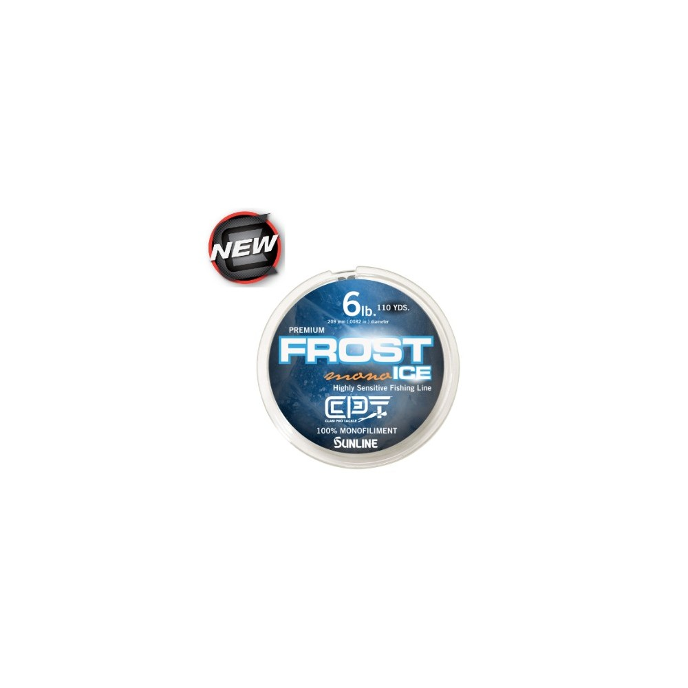 Clam Pro Tackle Frost Ice Monofiliment Ice Line