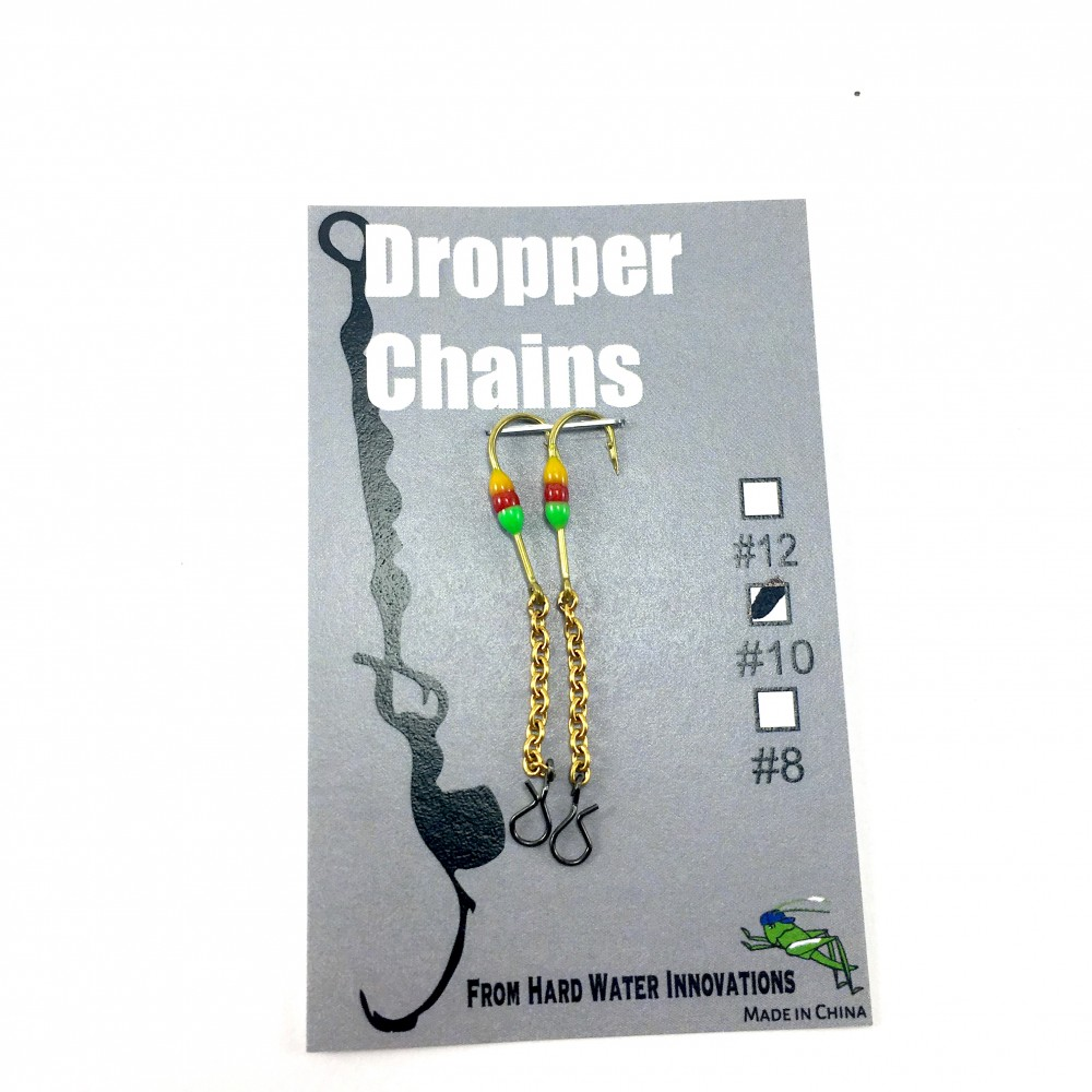 Perch XH Dropper Chain - GRN/RD/But
