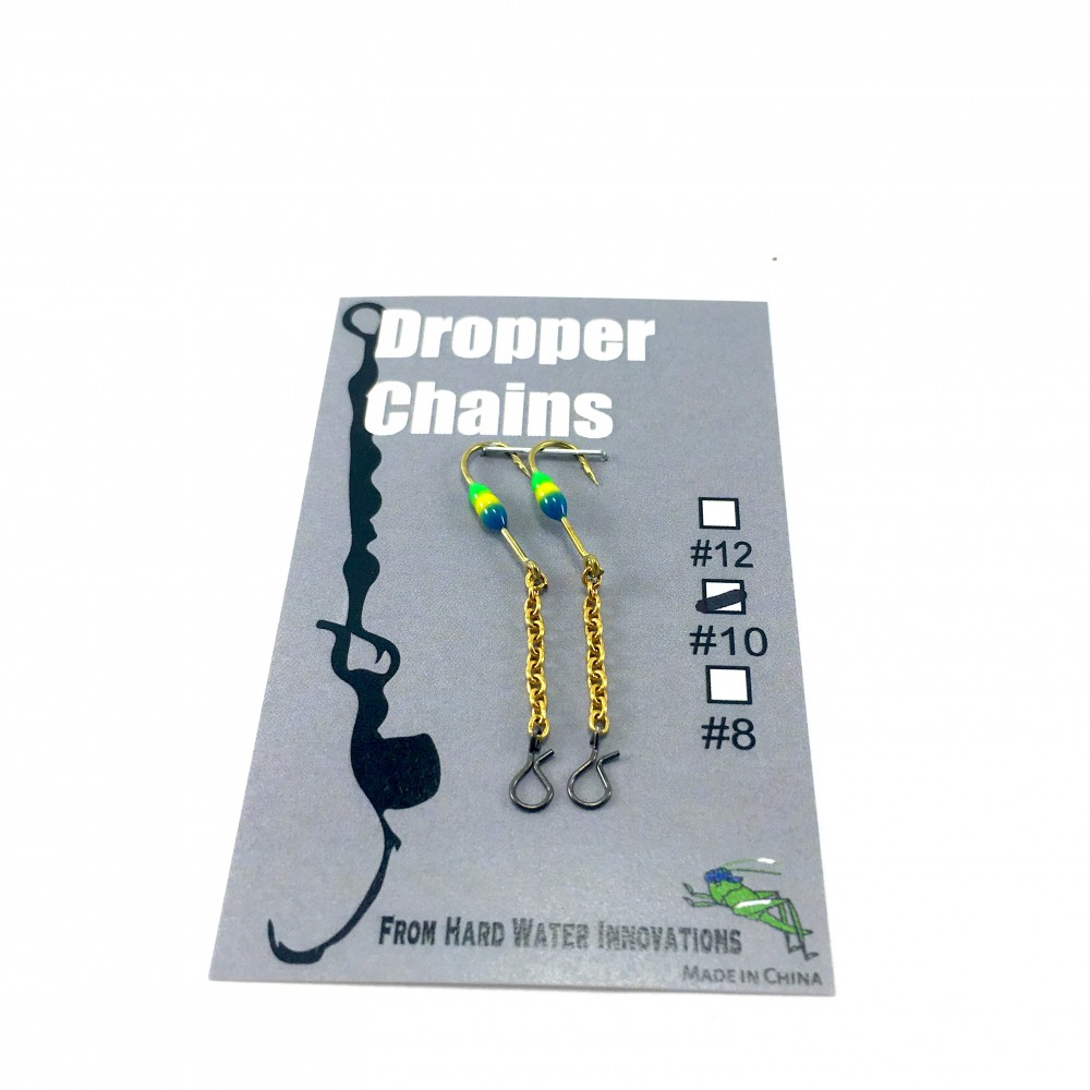 Perch XH Dropper Chain - BLU/YEL/GRN