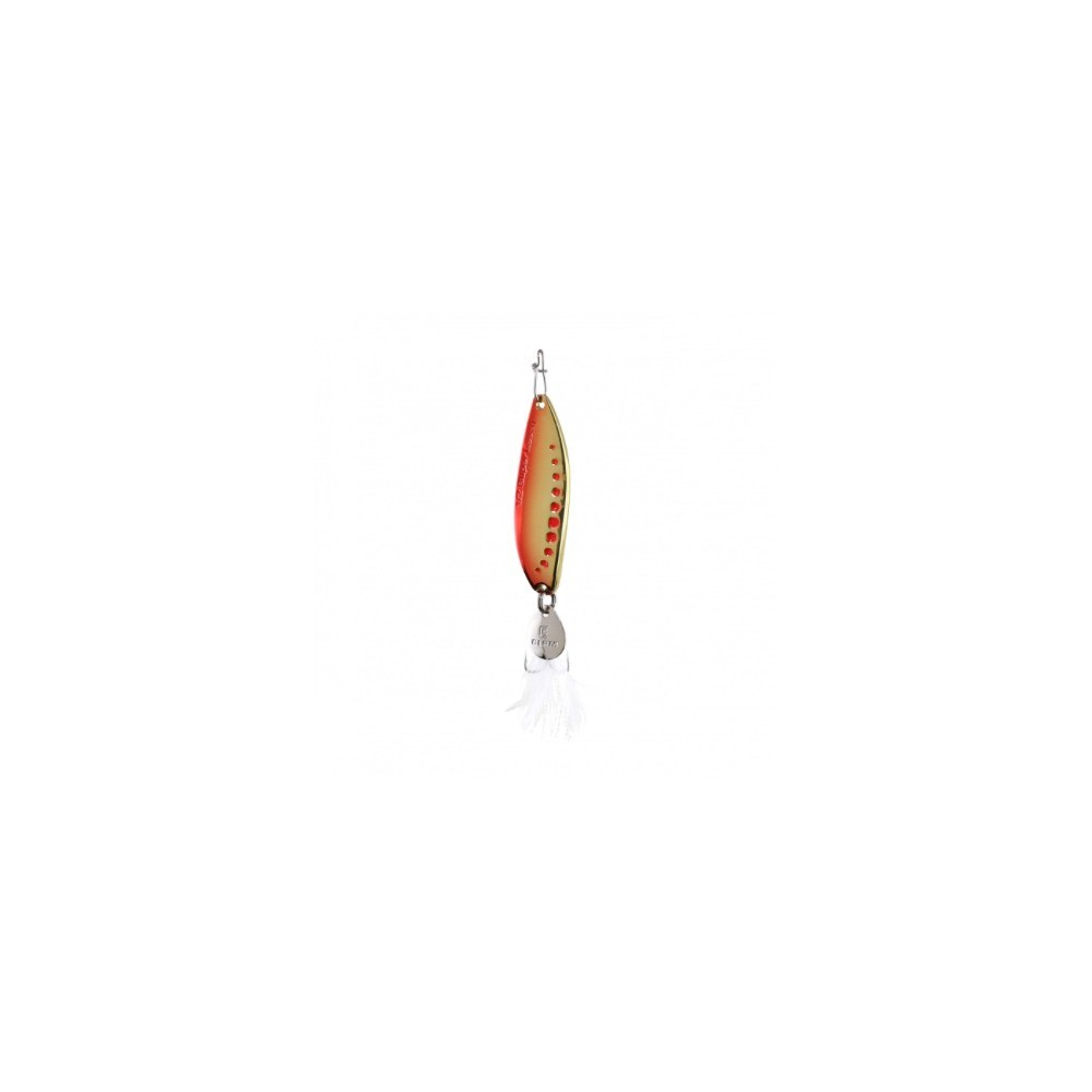 Clam Super Leech Flutter Spoon-Red Gold