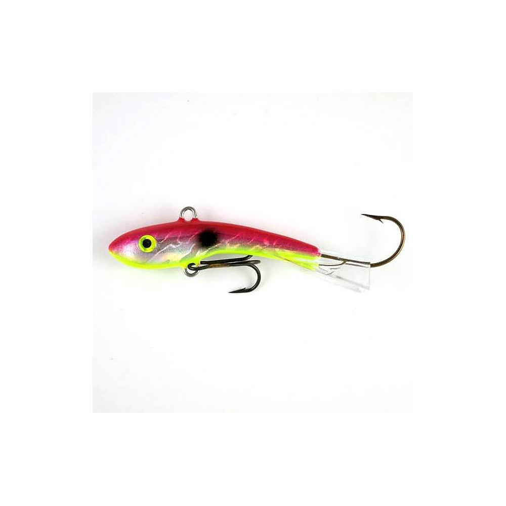 Holographic Shiver Minnows - Cranberry Shad