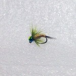Hair Tail Tungsten Ice Flies-Rainbow