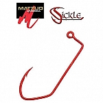 i Sickle Jig Hook 4/0 Red Matzuo 25 pack