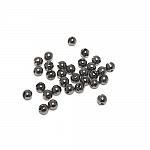 Heavy Metal Slotted Tungsten Bead 20pk