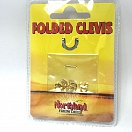 Northland Folded Clevis Gold #2