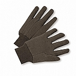 Jersey Gloves Brown
