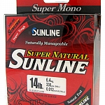 Sunline Super Natural Monofilament 330 Yard Spool Clear