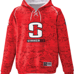 Striker Ice Hockey Hoody Camo Red