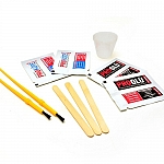 Pro Products Single Rod Epoxy Finish & Glue Kit