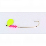 Bear Paw Tackle Flicker Snell Yellow
