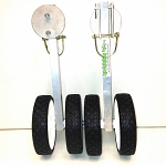 Ice Hopper Shack Jacker Shanty Wheel Kit