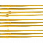 "Disposable Nylon Finish Brushes FBN 1/4"" 10pack"