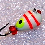 Heavy Metal Glow Eye 5mm Tungsten Jig