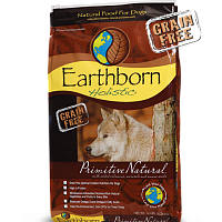 Earthborn HOLISTIC GRAIN FREE PRIMITIVE NATURAL DOG FOOD TURKEY/CHICKEN 28 LB