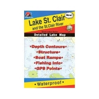 Fishing Hot Spots Map- Lake St. Clair