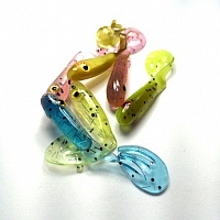 Micro Spoons & Jigs Candy Plastics STB 2.5 Swimmer