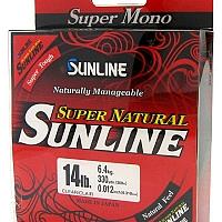 Sunline Super Natural Monofilament 330 Yard Spool Clear