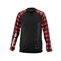 Eskimo Plaid Long Sleeve T