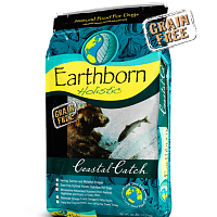 Earthborn HOLISTIC GRAIN FREE COASTAL CATCH DOG FOOD HERRING/SALMON 28 LB