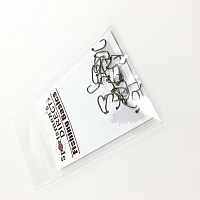 #14 60 Degree Barbless Fly/Jig Hook-MC400BL 25 pack