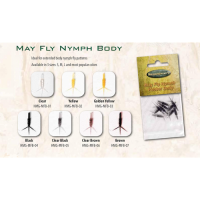 Hemingway's Mayfly Nymph Body and Tails