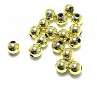 Domka Outdoors 6mm Beads - 100 Count (Metallic Series)