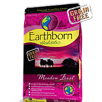 Earthborn HOLISTIC GRAIN FREE MEADOW FEAST DOG FOOD LAMB 28 LB